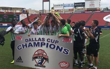 Atletas da Next Academy vencem maior campeonato de base dos Estados Unidos