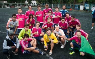 Atletas de clube santista escolhem jogar na Next Academy