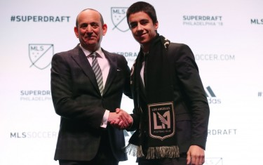 Atleta da Next Academy jogará na MLS em 2018 pelo Los Angeles FC