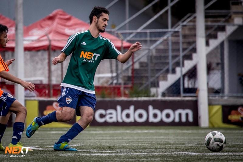 Lucas Amaral, de Joinville/SC, tem 21 anos e é estudante atleta da Next Academy Joinville