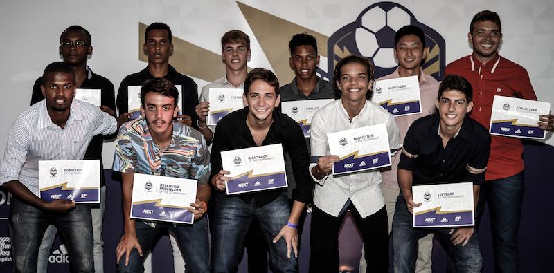 Célio Martins e atletas destaques no II Showcase Nacional da Next Academy