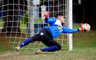 Luiz Fernando em ação pela Next Level League.