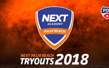 Next Academy Palm Beach abre testes na Flórida essa semana