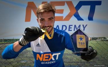 Após 6 meses treinando na Next, atleta ganha chance de ir jogar futebol nos Estados Unidos