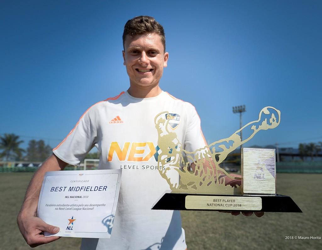 Deni Cresto, atleta do Next Gorilas-PR, foi eleito o MVP da competição.